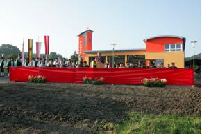 Segnung des neuen Feuerwehrhauses im Jahr 2006