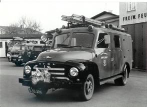 Fahrzeug- und Zeugstättensegnung 1959