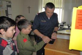 Besuch des Polizeipostens in Ampflwang