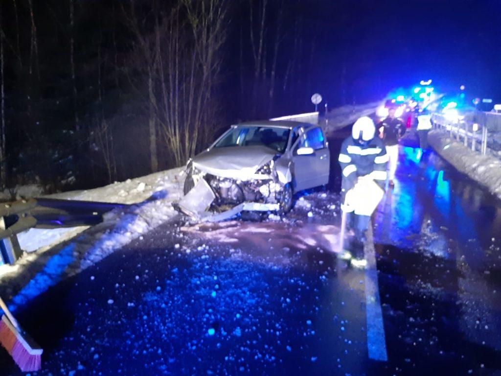 Technischer Einsatz – Verkehrsunfall